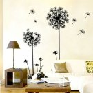 Dandelion Flower Wall Vinyl Decal Removable Sticker Art Decor