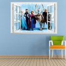 Frozen Cartoon Princess Vinyl Decal Removable Wall Sticker Poster