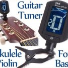 LCD Digital Bass Violin Ukulele Guitar Tuner Chromatic