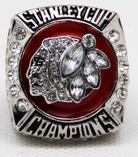 Lot 10 NHL 2013 Stanley Cup Chicago Blackhawks Championship Big Ring