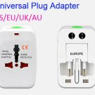 Lot 10 Universal Travel Adapter US EU UK Wall Plug Converter