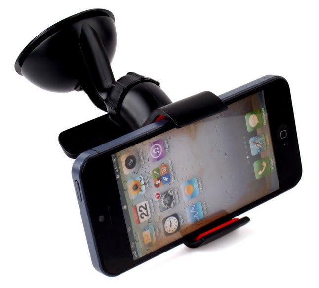Car Phone Holder GPS Stand Mount Case MP3 4 Bracket