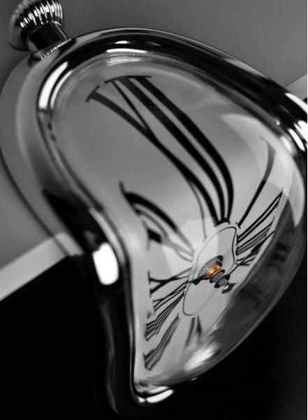 Salvador Dali Melting Clocks Vintage Retro Clock Watch