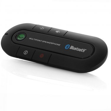 Hands Free Car Speakerphone Bluetooth v3.0 Cell Mobile Phone Kit Rechargeable