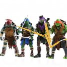 4pc Set 2014 Teenage Mutant Ninja Turtles TMNT 12cm
