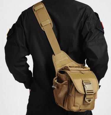 Tactical Molle Shoulder Bag Military Hiking Backpack Camera Bag
