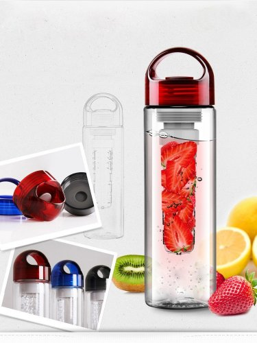 Sports Water Bottle with Infuser Canteen Flask
