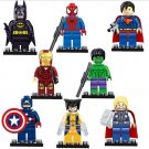 Special 8pc Loose Lot Super Heros Set Avengers Minifigure