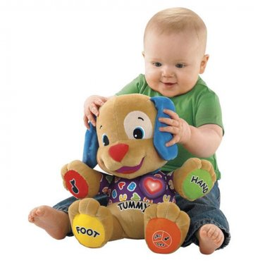 Musical Plush Toy Dog Sings and Talks When Squeezed