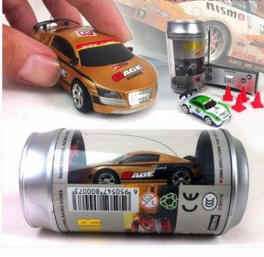 RC Coke Can Micro Mini Racers Remote Radio Control Car Toy