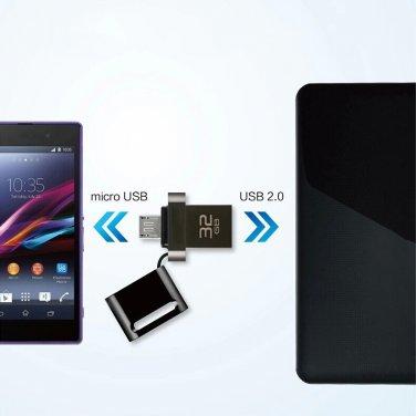 64GB OTG Flash Drive Micro USB Smartphone Memory Stick USB 2.0