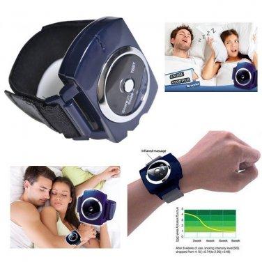 Snore Stopper Anti Snoring Cessation Apnea Wristband Sleeping Aid