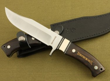 Fixed Blade Hunting Knife Bowie Buck Knives Full Tang