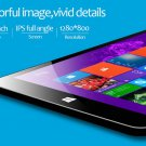 "64 Bit Windows 8.1 Quad Core 8"" IPS Tablet Bluetooth Wifi"