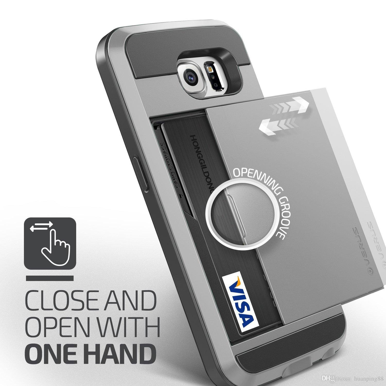 Galaxy Note 5 Phone Case Cover Card Holder Plus