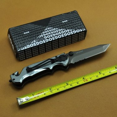SOG Knife 4 in 1 Pocket Knives Foldable Knife