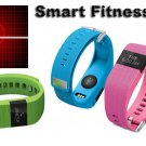Smart Fitness Wristband Bluetooth 4.0 Watch Heart Rate Pedometer