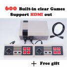 Retro Game Console 600 Nintendo Games Built in! HDMI Output Super Mario Bros Contra