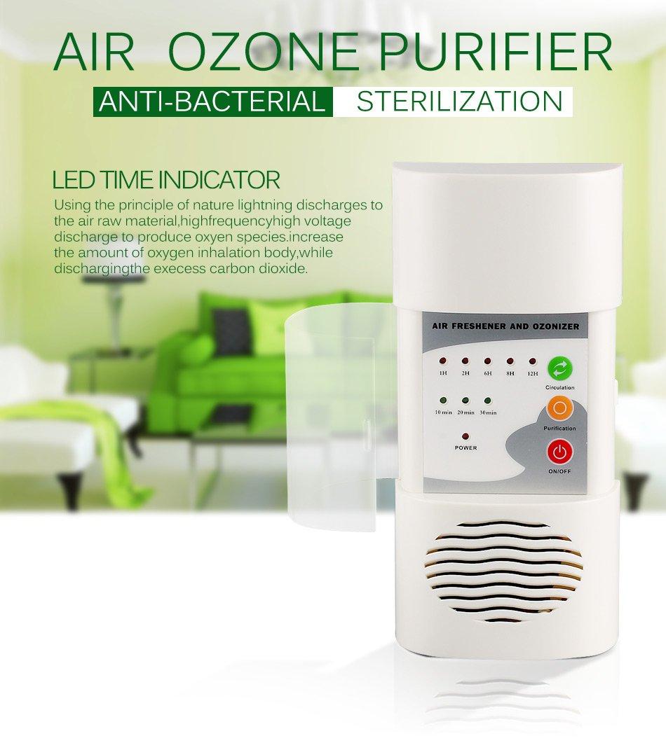 Ozone Generator Air Purifier Deodorizer Sterilization Germicidal Fungicide Disinfection