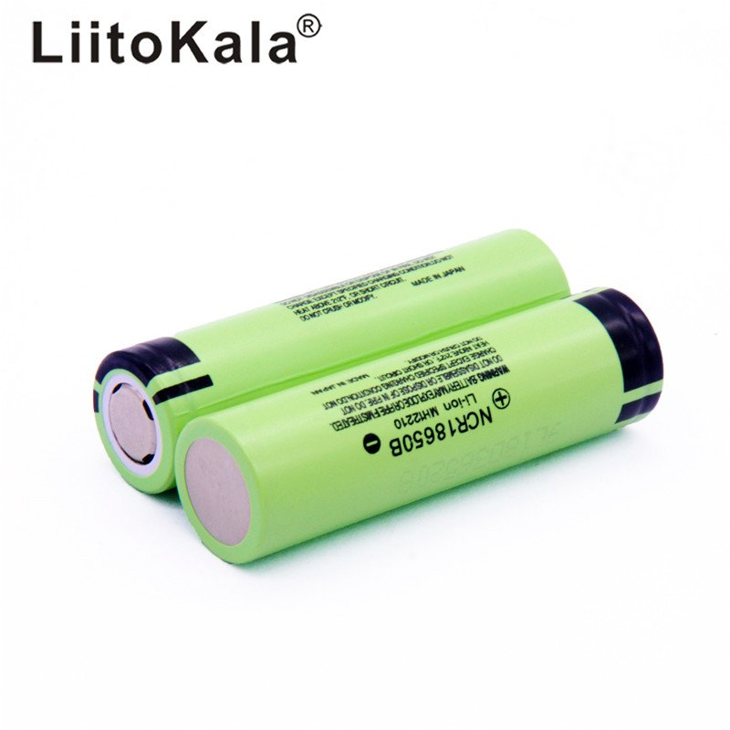 2pc 3.7V 3400 mah 18650 3400mah Rechargeable Lithium Battery Vape Battery