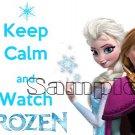 Keep Calm and Watch Frozen Child's Size Medium T-shirt