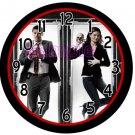 "Bones Cast Awesome  9"" Novelty Wall Clock 01"