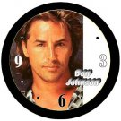 "Don Johnson Handsome 9"" Novelty Wall Clock 02"