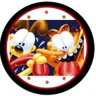 """Garfield the Cat & Odie Super Silly 9"""" Novelty Wall Clock 03"""