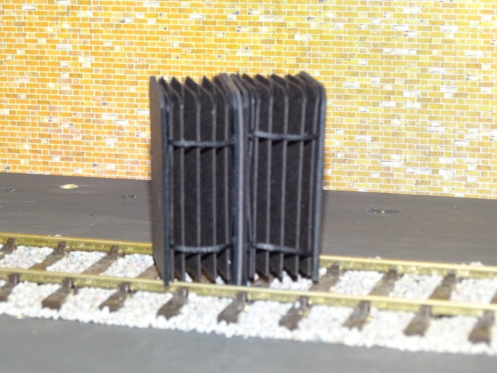 LNER Gangways 2 Packs Closed Type Made for O Gauge + FREE Modellers Chart #2011