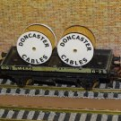 Doncaster Cable Drums OO Gauge Set of 4 + FREE Bolted Pack Wagon Loads #2035