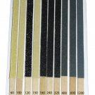 Sanding Sticks Type 1 Single Sided 10 Grades 2 of each N Gauge Aid + 2 FREE #2027