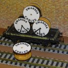 Swansea Cable Drums OO Gauge Set of 4 + FREE Bolted Pack Wagon Loads #2040