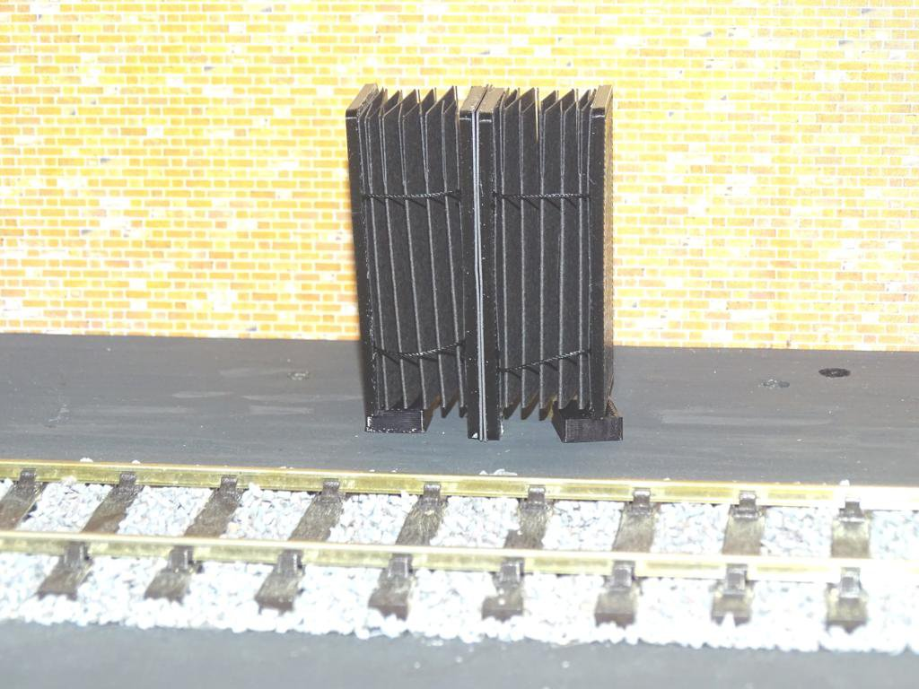 BR Mk1 Gangways 2 Packs Closed Type Made for O Gauge + FREE Modellers Chart #2015