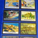 Destinations Wallboards O Gauge Advertising Signs Set of 14 Railway Hobby #2051