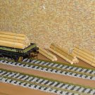 Log Piles OO Gauge Wagon Loads 4 Sets x4 Sizes + FREE Advertising Signs #2042