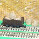 Straw Hay Bales Realistic N Gauge 2 Packs Wagon Loads + FREE Scale Chart #2058