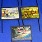 Destinations Billboards O Gauge Advertising Signs Set of 14 Railway Hobby #2054