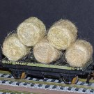 Straw Hay Bales Realistic OO Gauge 2 Packs Wagon Loads + FREE Scale Chart #2059