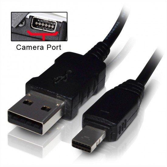 USB Data Cable Cord for Casio Exilim EX-TR150 TR100 TR200 ZR300 ZR20