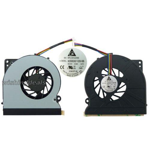 CPU Cooling Fan Cooler for ASUS N61JQ N61VF KSB06105HB Laptop