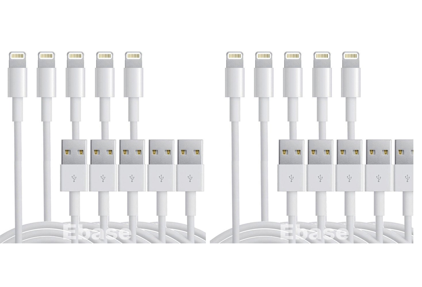10 x 8 Pin USB Ligtning Charger Cable Cord Lead For Apple ipad5 air iPhone5 5s 5c touch 5 iOS7