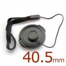 2x 40.5mm Lens Cap w/ Anti-Loss Strap for Sony E 16-50mm F3.5-5.6 PZ OSS