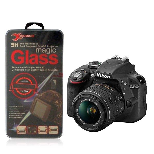 Real 9H Tempered Glass Screen Protector for Nikon D3300 Digital SLR Camera