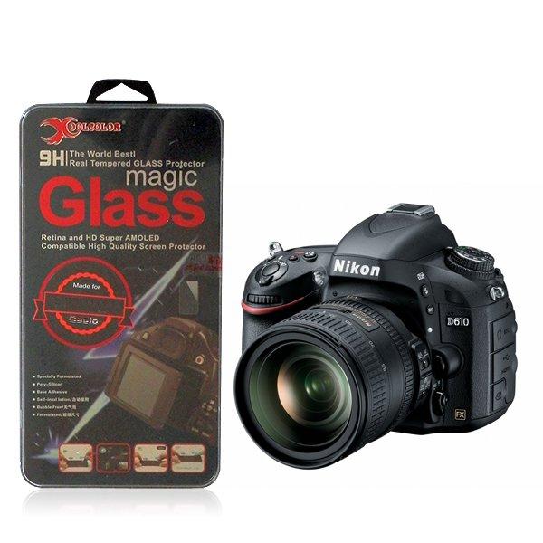 Real 9H Tempered Glass Screen Protector for Nikon D610 Digital SLR Camera