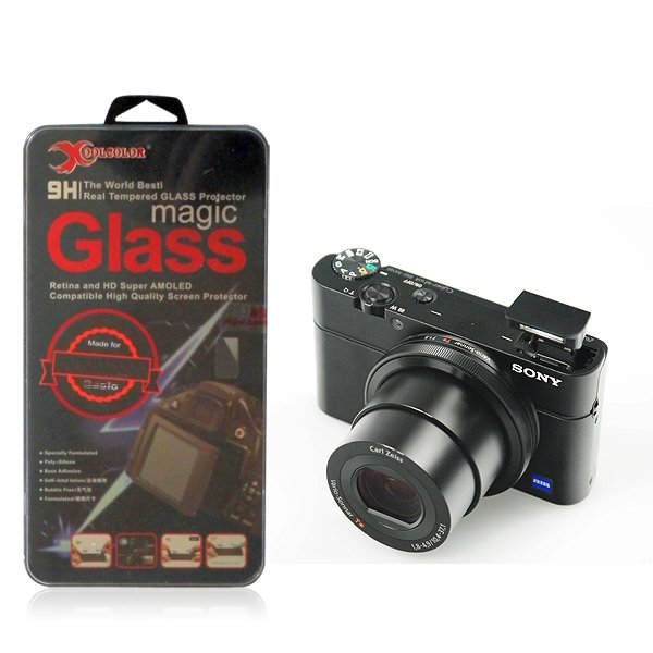 Real 9H Tempered Glass Screen Protector for Sony Cyber-shot DSC-RX100 Camera