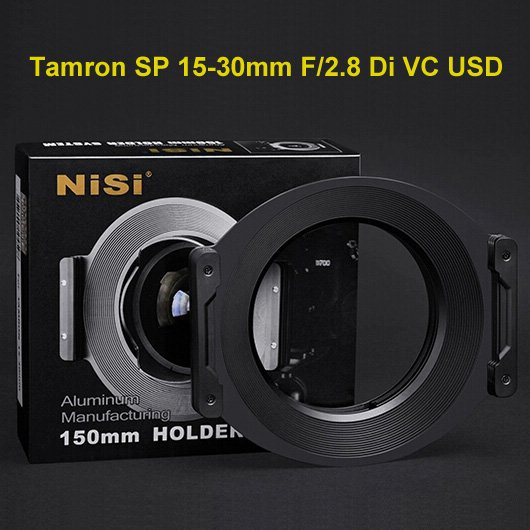 NiSi 150mm Square Filter Holder System for Tamron SP 15-30mm F2.8 Di VC Ultra-wide Angle Lens