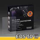 MAS Optical Glass Screen Protector for Canon EOS 5D Mark III / 5Ds / 5Ds R LCD Protection