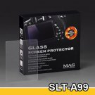 MAS Optical Glass LCD Screen Protector for Sony Alpha SLT-A99 SLT a99 & Alpha a7R II