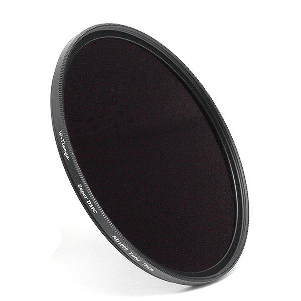 WTIANYA 62mm Multi-Coated SLIM ND1000 Neutral Density ND 3.0 Filter 10-Stop