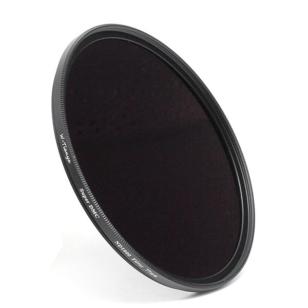 WTIANYA 82mm Multi-Coated SLIM ND1000 Neutral Density ND 3.0 Filter 10-Stop